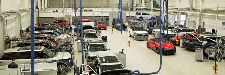 TRAINING FACILITIES | Jaguar Land Rover Apprenticeship Programme